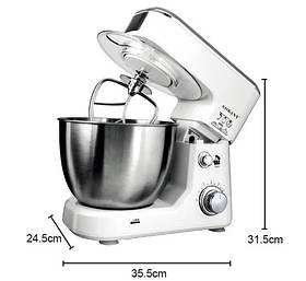 Кухонний комбайн тістоміс міксер Sokany SC-209 800 Ватт