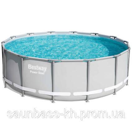 Каркасний басейн 56444 (427х122) з картриджних фільтрів