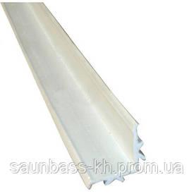 L-подібний профіль для переливання решітки AquaViva Classik і Grift 2м х 25 мм