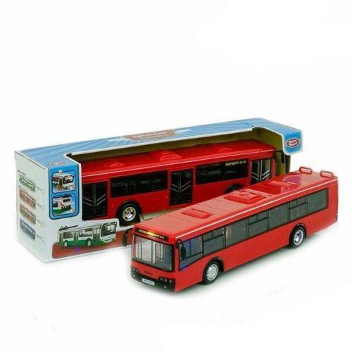 Автобус Из Серии Автопром (Красный) 9690-C