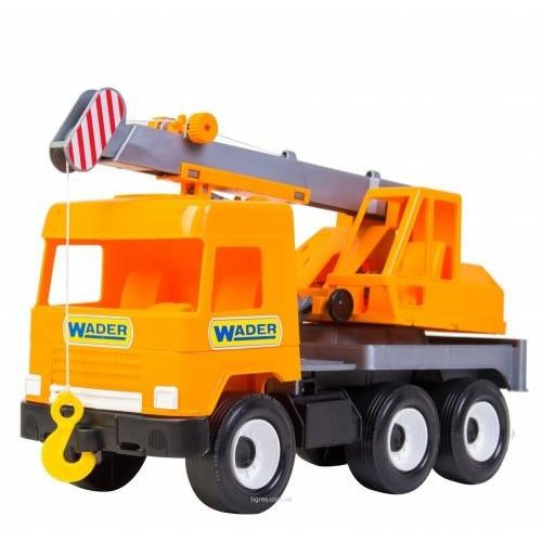 Автокран  Middle Truck  (Оранжевый) 39313