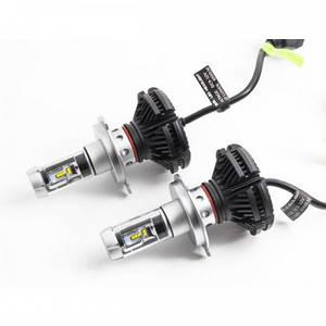 Автомобильные Led-Лампы X3 H4 6000Lm 6500K + 2 Цветовых Фильтра (D2)