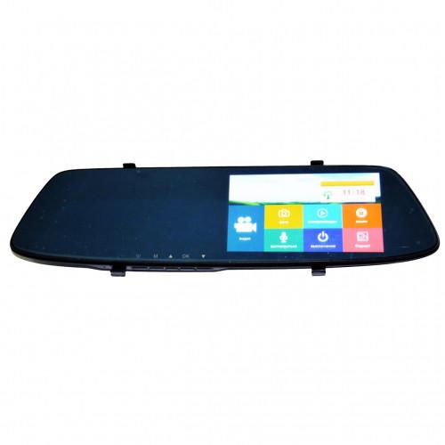 Автомобильный Видеорегистратор-Зеркало Dvr L1001С Full Hd С Камерой Заднего Вида (88189) (Sf)