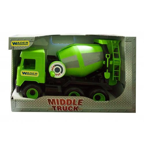 Бетономешалка  Middle Truck  (Зеленая) 39485