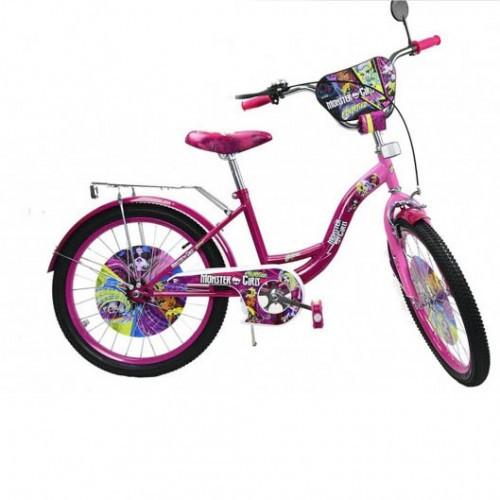Велосипед 2-Х Колесный Monster Girls 182006