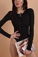 """Боди """"Заклепка"""" женский, стильный, модный, эффектный, черный, бежевый, хаки, серый"""