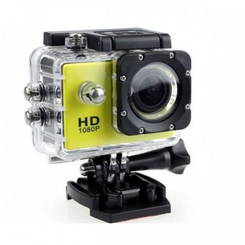 Водонепроницаемая Спортивная Экшн Камера Action Camera A7 Желтая (D2)