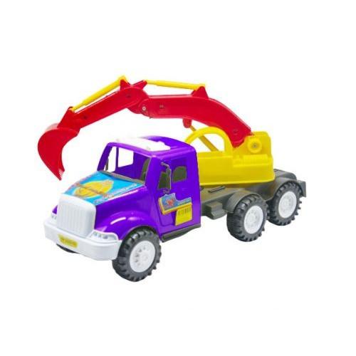Грузовик Дампер Экскаватор, (Фиолетовый) Kw-13-002-1