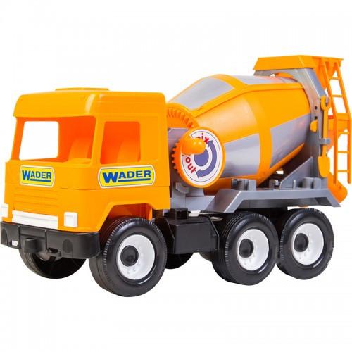 Детская Бетономешалка Middle Truck Оранжевая 39311