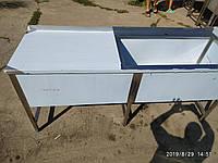 Стол с мойкой сварной 1700х600х850 - 3.755 грн.