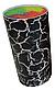 Универсальная колода для ножей Benson BN-014 красная | настольная подставка для ножей Бенсон, Бэнсон, фото 4