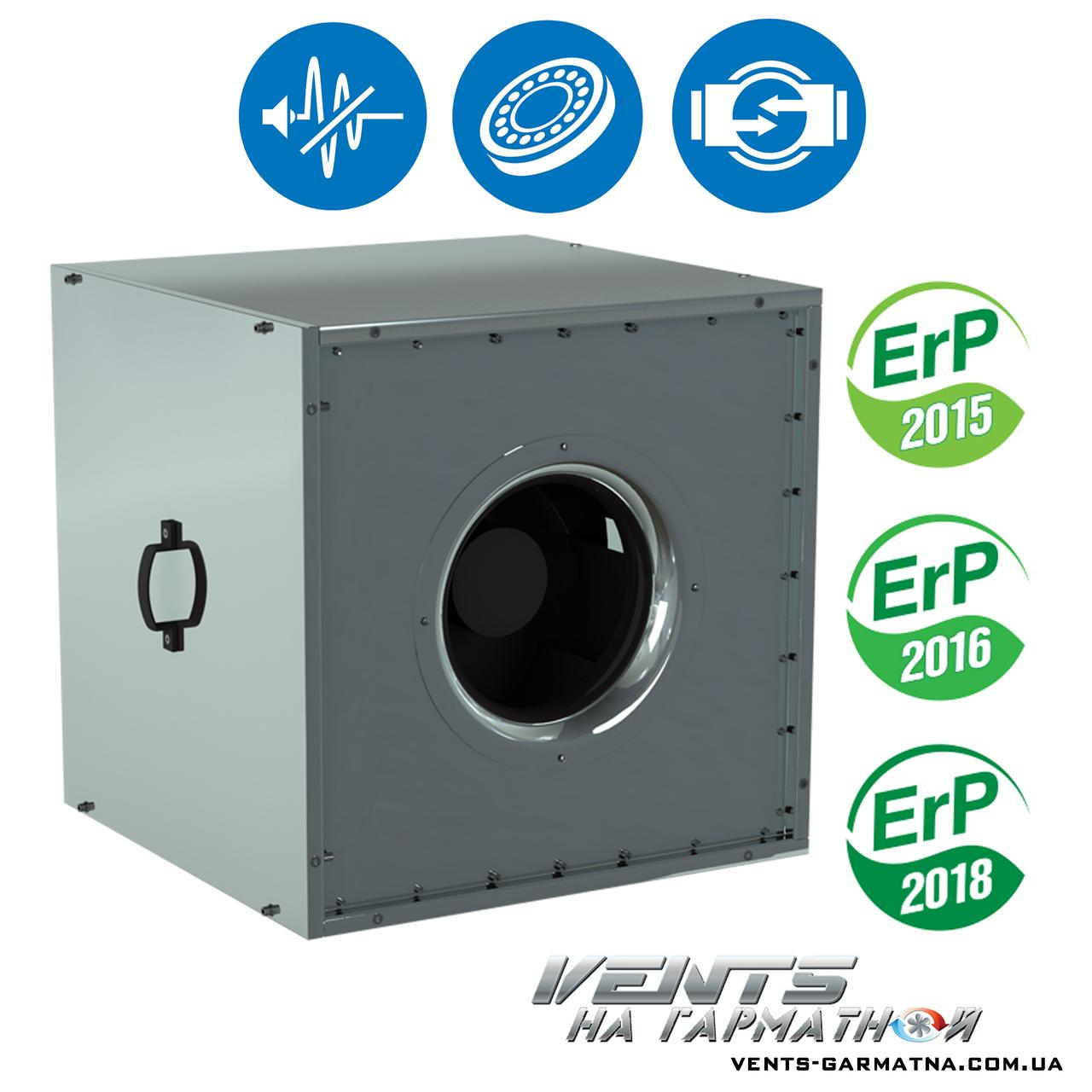 Вентс ВШ 630 С-4Д. Шумоизолированный вентилятор