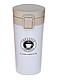 Термос из нержавеющей стали Benson BN-40-1 (380 мл) коричневый | термочашка Бенсон | термокружка Бэнсон, фото 6