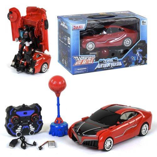 Детская Машина-Трансформер На Радиоуправлении Красная Tt686