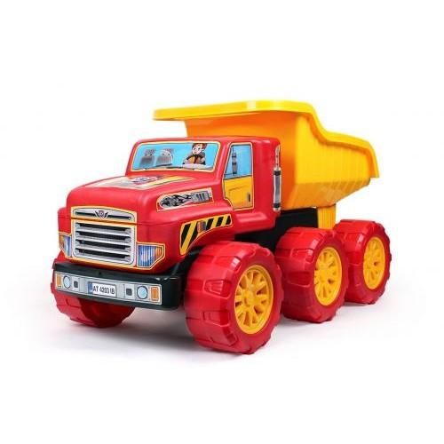 Детская Машинка Большой Самосвал Технок 4203 Красная