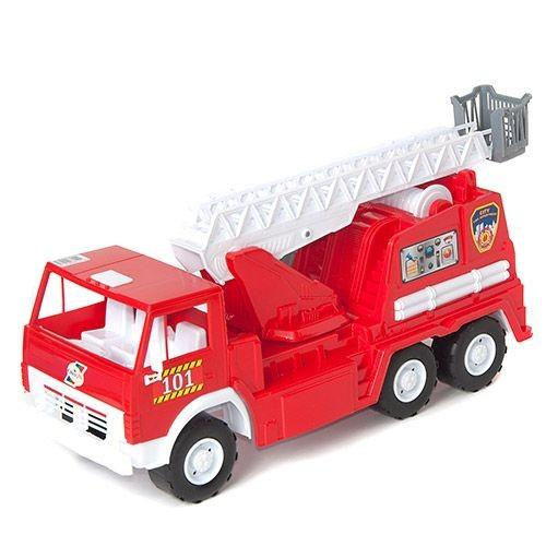 Детская Машинка Камаз Х3 Пожарная 034