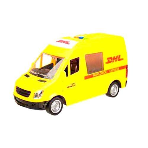 Детская Машинка Почта Из Серии Автопром Желтая 7669B