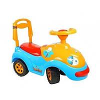 Детская Машинка-Каталка Орион Оранжево-Голубая (Луноходик 119У)