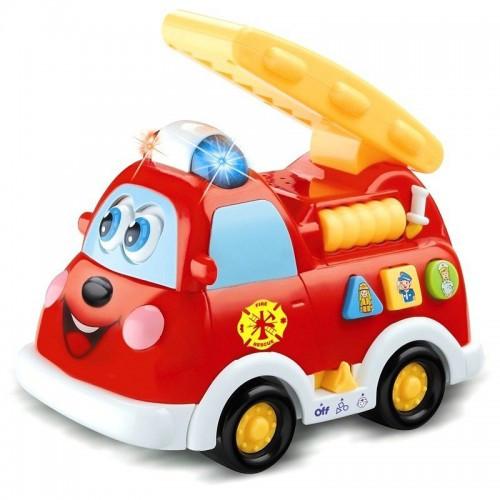 Детская Пожарная Машина Со Звуком И Светом 9163
