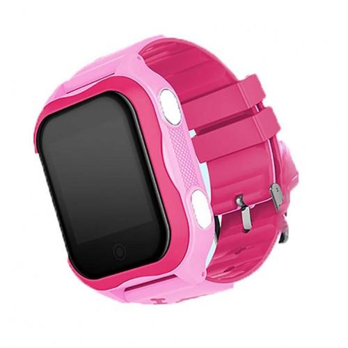 Детские Умные Смарт Часы Baby Smart Watch A32 Черно-Розовые (Ha1)