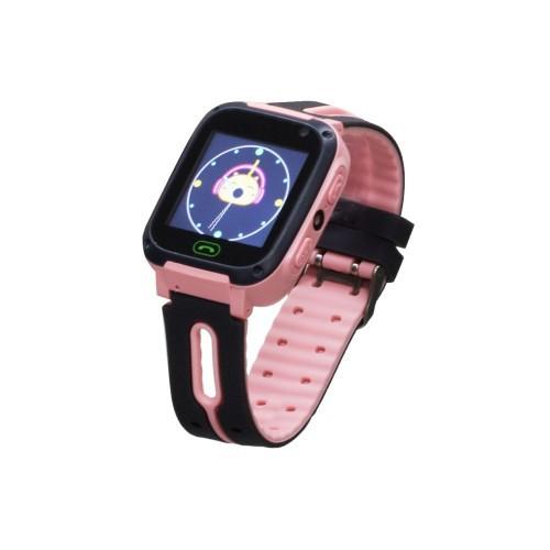Детские Умные Смарт Часы Baby Smart Watch S4 Original Gps Розовые (M1)