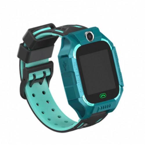 Детские Умные Смарт Часы Baby Smart Watch Z6 Original Зеленые (М1)