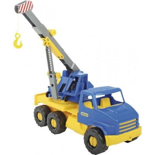 Детский Автокран City Truck Сине-Желтый 39396