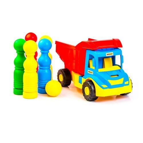 Детский Грузовик С Кеглями Multi Truck 39220