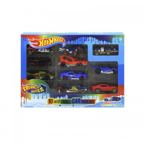 Детский Набор Машинок Hot Wheel 10 Машинок Меняют Цвет Gbs889-10