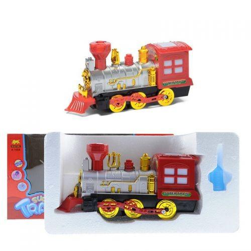 Детский Поезд Super Train С Дымом 1558