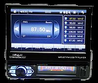 Автомагнитола 1din Pioneer 7130 - Выдвижной Экран - Bluetooth + Пульт
