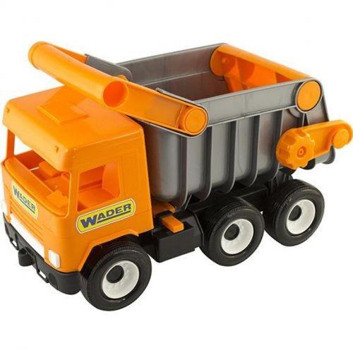 Детский Самосвал Wader Middle Truck City Серо-Оранжевый