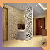Перегородки интерьерные из МДФ декоративные для гостинниц