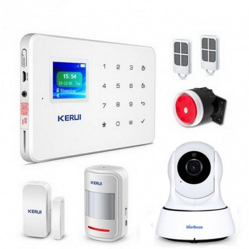 Комплект Сигнализации Kerui G18 С Видео Wi-Fi Ip Камерой