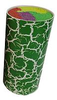 Универсальная колода для ножей Benson BN-014 зеленая | настольная подставка для ножей Бенсон, Бэнсон