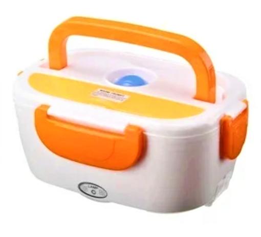 Электрический ланч-бокс с подогревом Benson BN-035 оранжевый   контейнер для еды Бенсон   ланчбокс Бэнсон