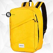Рюкзак для ручной клади 40х20х25 Wascobags RW Желтый (Wizz Air / Ryanair)