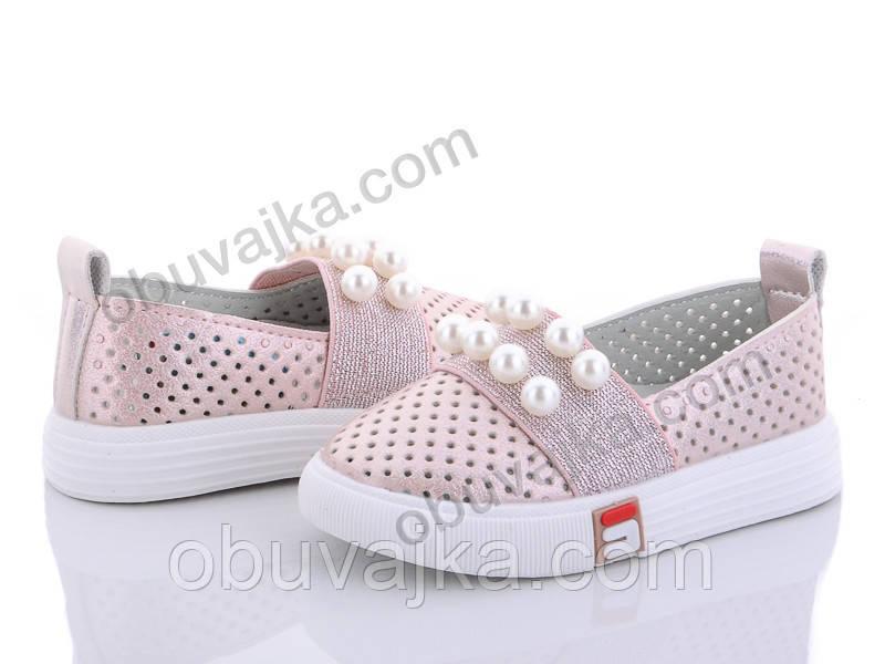 Детские туфельки - слипоны для девочек оптом от BBT(21-26)