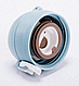 Термос з нержавіючої сталі Benson BN-080 (500 мл) блакитний | термочашка Бенсон | термокружка Бэнсон, фото 5