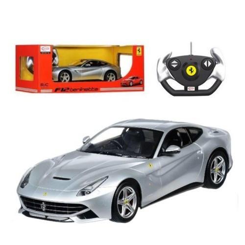 Машина Ferrari F12  49100 Серебристая