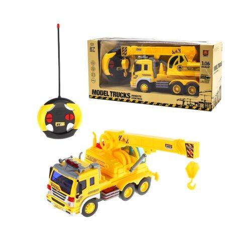 Машина На Радиоуправлении Автокран Wy1005D Желтый