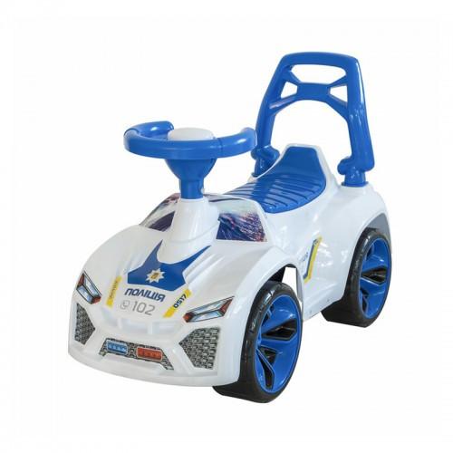 Машинка Для Катания Ламбо Белая 21