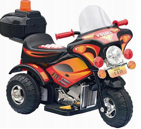Детский мотоцикл на аккумулятор POLICE, фото 2