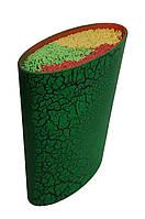 Универсальная колода для ножей Benson BN-016 зеленая | настольная подставка для ножей Бенсон, Бэнсон