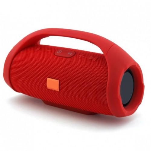 Портативная Беспроводная Bluetooth Колонка Supero Boombox Mini Красная (D2)