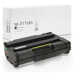 Сумісний Картридж Ricoh Aficio SP 311SFN (SP 311), 6.400 копій, аналог від Gravitone (GTR-SP-311SFN-BK-XL)