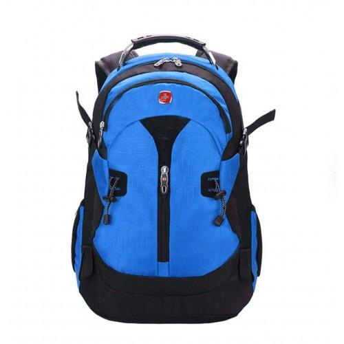 Рюкзак Swissgear S7255 30Л Синий + Дождевик