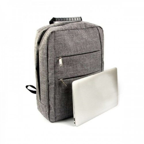 """Рюкзак Для Ноутбука Macbook 14""""-15.6"""" Gr-R2 Серый (Gr)"""