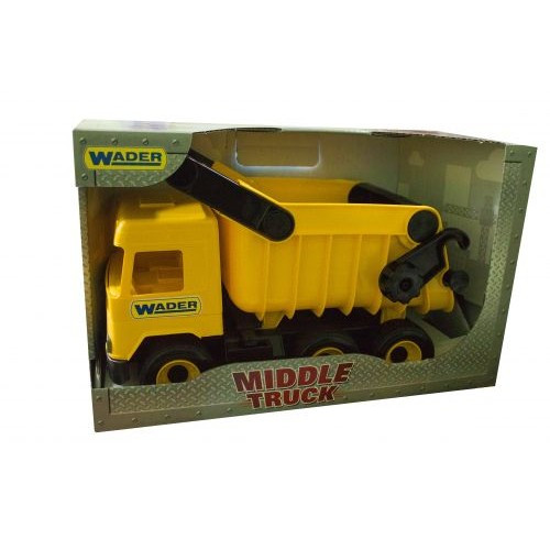 Самосвал  Middle Truck  (Желтый) 39490