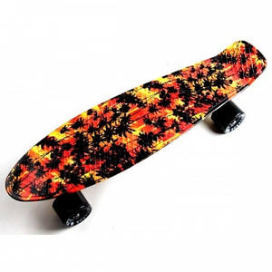 Скейтборд, Пенни Борд  Penny Board Fish Palm (Sd)